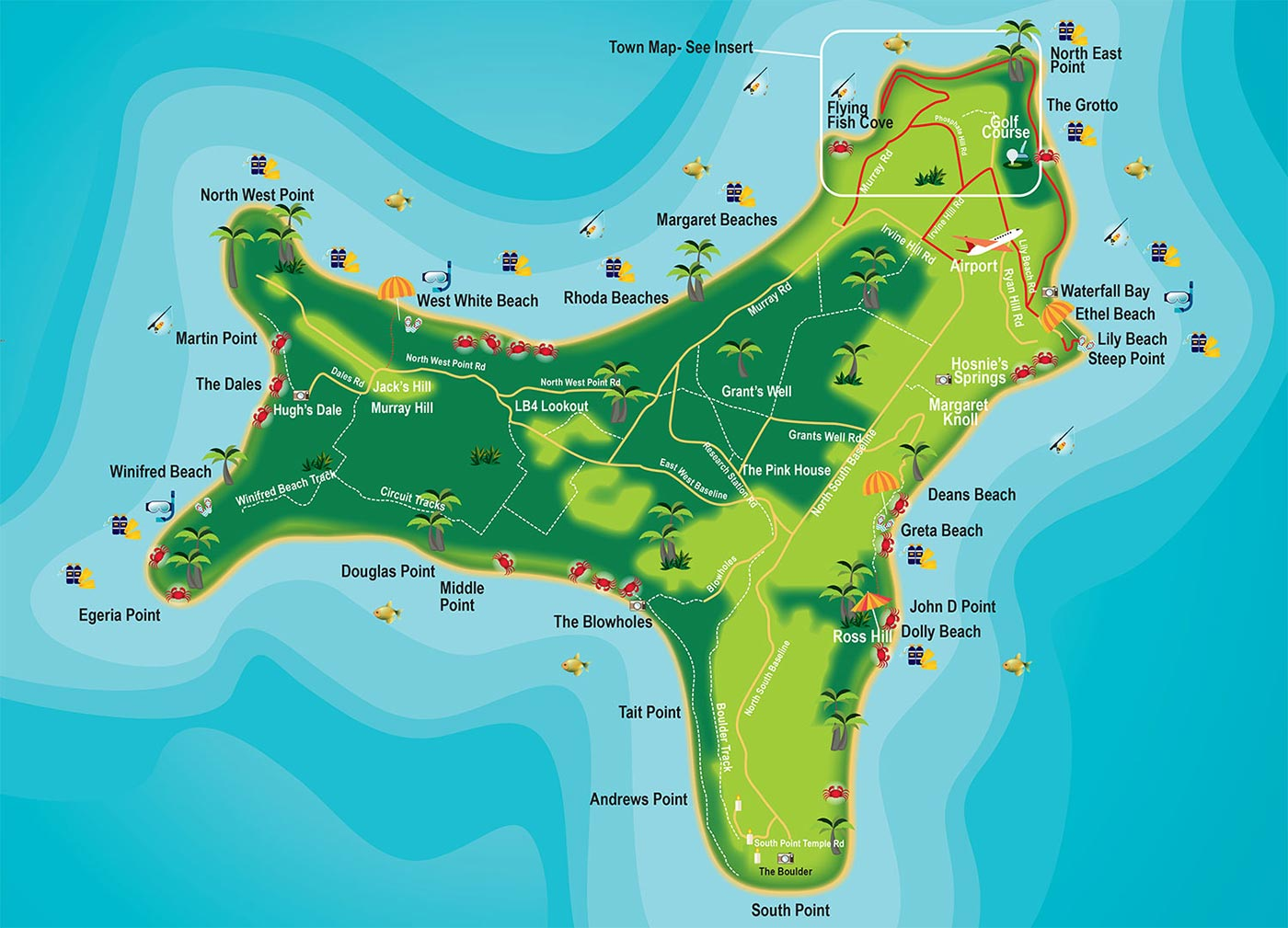 Where Is Christmas Island On The Map map – Christmas Island