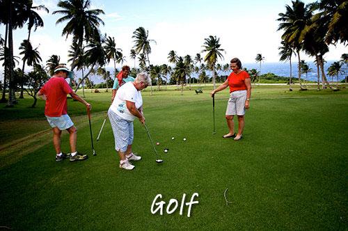 golf christmas island
