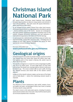 Page 12 Christmas Island Visitors Guide
