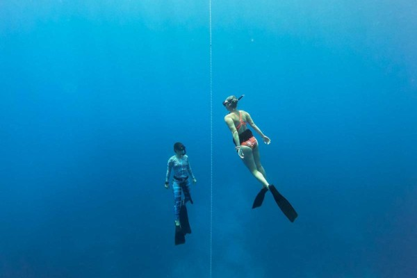 Freediving Christmas Island2